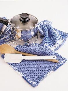 Crochet Pattern Yarn Holder : 1000+ images about Crochet~Potholders on Pinterest ...