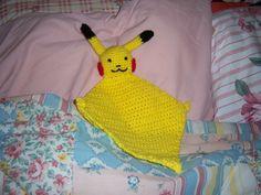 Pikachu Blanket Buddy - CROCHET
