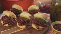 Beef Barbacoa Sliders---just for the marinade :-)