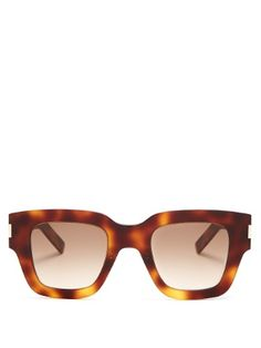 d8ebe15d60d11 Rectangle-frame acetate sunglasses