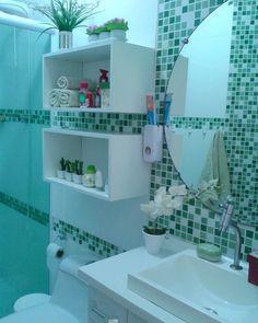 """4,463 curtidas, 55 comentários - Cristiane Ferreira Ramos (@meu.lar.minhapaz) no Instagram: """"Aquela pessoa que ama um banheiro limpinho \o/"""""""