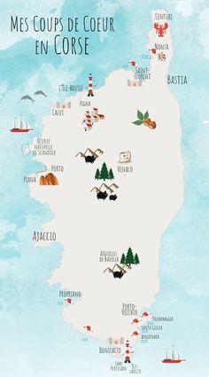 Que faire en Corse : mes coups de cœur Europe Destinations, Travel Maps, Travel And Tourism, Yogyakarta, Travel Pictures, Travel Photos, Corsica Travel, New Mexico, Mexico Style