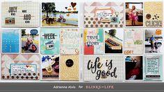 Blinks of Life #projectlife #scrapbook
