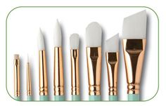 One Stroke Glass and Ceramic Completer Brush Set, INT4175...