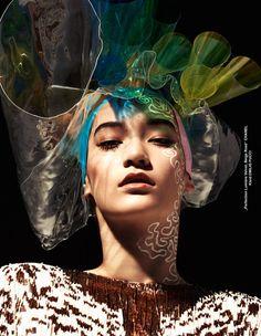 Mona Matsuoka - TUSH Magazine Fall 2014