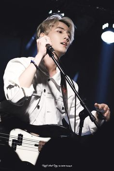 currently listening to him hahaha. Brian Kang NIGHT AND DAY | do not edit.