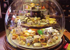 La petite Fromagerie, selección de quesos.