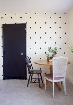 ściana w pokoju