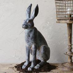 Rabbit Garden Statue