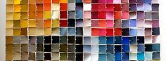 50 Things to do with Paint Chip Samples