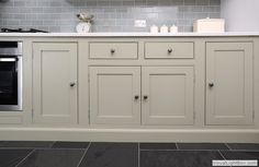 shaker style with beading - handmade kitchens direct