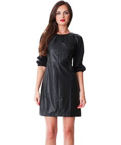 Look at this Black Manhattan Dress on #zulily today!