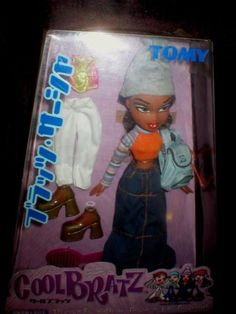 New-TOMY-COOL-BRATZ-SASHA-NH-2001-JAPAN-RELEASE-DOLL-SUPER-super-RARE-NIB-HTF