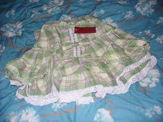 Bodyline Gingham Skirt (SOLD)