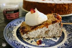Airinie Cooks: Her Eclectic Kitchen: Cherry and Rose Cake