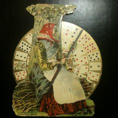 1905 Antique Fortune Telling Historic Playing Card Witchy Artifact Obsolete Game | eBay