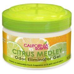 I'm learning all about California Scents Citrus Medley Odor Eliminators Gel Elm12-845 at @Influenster!