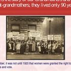 A 14 page Power Point that is a powerful look at  the history of the brave women and what they suffered to earn the right to vote.  It illustrates ...