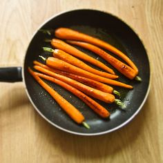 This ain't your mama's dinner!: Mind-blowing candied carrots