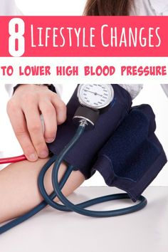 How to Lower High Blood Pressure by Making Lifestyle Changes - If your blood pressure is running too high, these 8 lifestyle changes can help lower it and keep it within normal levels! All naturally with no meds! Natural Blood Pressure, Reducing High Blood Pressure, Healthy Blood Pressure, Blood Pressure Remedies, Lower Blood Pressure, Fat Loss Drinks, Fat Burning Drinks, Burning Water, Banana Drinks