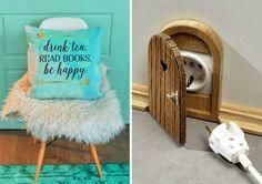 love the little door!