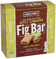 Nature's Bakery Whole Wheat Fig Bars - Apple Cinnamon - 6 ct ** Awesome product. Click the image : Bars Snacks Weight loss dietry Clean Eating Diet Plan, Clean Eating Recipes, Clean Eating Snacks, Healthy Snacks List, Easy Healthy Recipes, Snack Recipes, Healthy Choices, Healthy Foods, Fig Bars