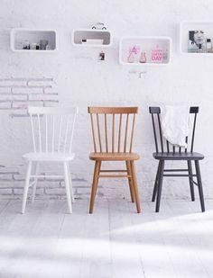 Klassischer Küchenstuhl aus Buchenholz, lieferbar in drei unterschiedlichen Farben. Der Stuhl ist fix und fertig montiert jetzt bei car-Moebel entdecken!