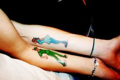 101 Creative Couple Tattoos #tattooforaweek #blog #creative #couple #tattoo