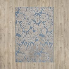 Bahama Blue Indoor/Outdoor Area Rug | Wayfair