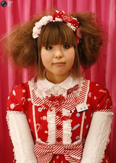 A shop attendant poses at Marui One, a branch of department store group Marui Co., in Tokyo's Shinjuku district Japanese Streets, Japanese Street Fashion, Kawaii Fashion, Lolita Fashion, Lolita Style, Japanese Textiles, Department Store, Bullshit, Magical Girl