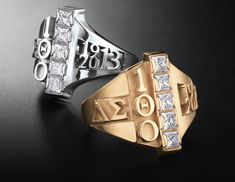 Delta Sigma Theta - The Official Centennial Ring Delta Sigma Theta Gifts, Zeta Phi Beta, Delta Sorority, Sorority Pictures, Red Pyramid, Greek Gear, Divine Nine, Delta Girl, Sorority Life