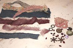 DIY lace and fabric kit!