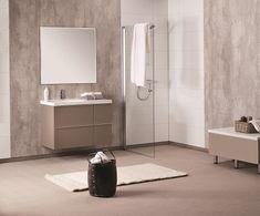 Þorgrímsson & Co. Waterproof Wall Panels, Wet Rooms, Powder Room, Double Vanity, Toilet, Instagram, Bathroom Ideas, Shower Rooms, House