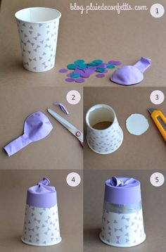 ideas for crafts. Bible Crafts For Kids, Crafts For Kids To Make, Diy Arts And Crafts, Diy Projects To Try, Paper Crafts, Diy Confetti, Camping Crafts, Birthday Diy, Party Items