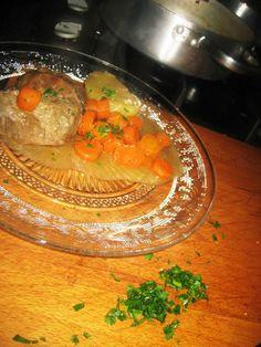 LAS RECETAS DE MAMA ROSA: Carrilladas ibéricas en salsa de puerros