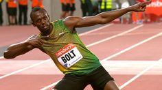 Usain Bolt wins at Anniversary Games at Olympic Stadium  http://socialmediabar.com/usain-bolt