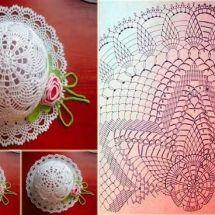 Childrens Crochet Hats, Crochet Kids Hats, Diy Crafts Crochet, Crochet Projects, Sombrero A Crochet, Knitting Patterns, Crochet Patterns, Hat Patterns, Crochet Patron