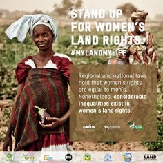 #MyLandMyLife African women gather together to push for #LandRightsNow