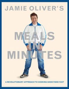 Jamie Oliver's Meals in Minutes. He breaks cooking down into it's simplest parts.