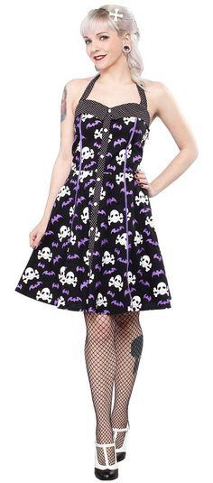 Sourpuss Peggy Bare Bones Dress