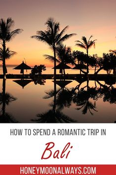 Bali is affordable and full of adventure making it a perfect destination of a honeymoon. The Beaches are ultimate, blue waters are regular sites, and the beaches are famous for surfing. #bali #honeymoon #couplestravel
