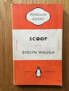 SCOOP - will have you rolling on the floor even half a century later! This is a sharp and unforgiving takedown of journalism as a profession, and even though the details are slightly anachronistic, the humour sparkles through down the years. Evelyn Waugh Penguin, 1951 impression of this Penguin paperback edition in good+ condition, please see pics, paypal accepted, any questions please get in touch.