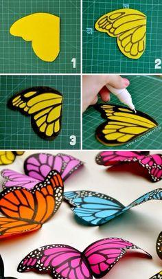 Ailes papillon
