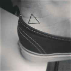 My triangle tattoo♡♥