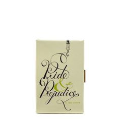 kate spade | pride and prejudice book clutch