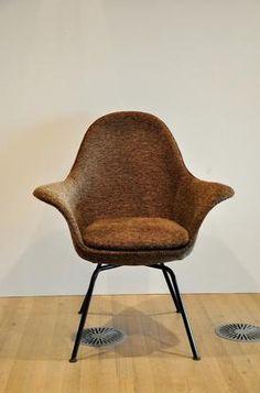 Pair of Hans Bellman Strassle armchairs