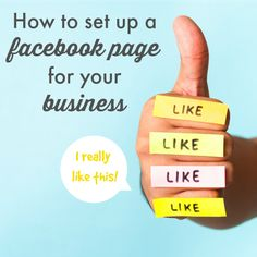 How to Set Up a Facebook Page for your Business - Brilliant Business Moms