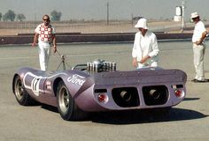 Mario Andretti's Honker II at 1967 Riverside Can-Am