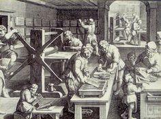 De boekdruk kunst is ontstaan in de 17de eeuw. In de middeleeuwen was het een monnikenwerk, waardoor het uitgeven van een boek jaren duurde. Doordat de boekdrukkunst was ontstaan in de wetenschappelijk revolutie konden wiskundigen, filosofen, etc hun werk delen met andere mensen (wat ook weer andere wiskundigen en filosofen hielp). De boekdrukkunst was ook een groot voordeel doordat het een stuk sneller werd uitgegeven.