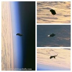 Black Knight satellite that has been orbiting Earth on and off since it was officially discovered in 1960. The origin of this satellite is unknown...